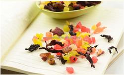 Private Label Tea Factory Blueberry Fruit Flavor Tea Blend For Skin Beauty Tea And Flower Tea