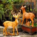 personalizada de fábrica al por mayor vida tamaño estatua de ciervo