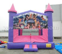 Wholesale bouncy castle prices/ bounce castle/ cheap inflatable bouncers with art panel A2174