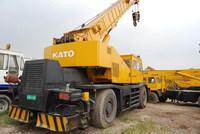 original from Japan, used but qualified Kato rough terrain crane 45 ton