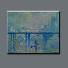Beautiful pure hand-painted high quality Thames natural scenery oil painting home decorative painting