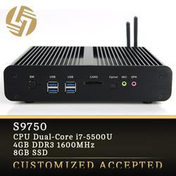 Computer Manufacturing Companies Fanless Mni ITX Intel HTPC I7