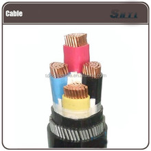 1core,3cores 4cores 5 cores differential pressure transmitter armored cables