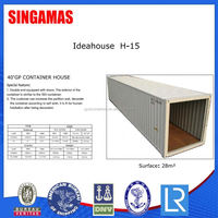 40ft Multi Container House Manufacturer