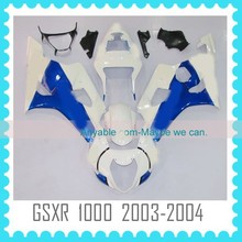 ABS Fairing Body Kit motorcycle parts for SUZUKI GSXR1000 K3 2003 2004