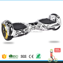 Bluetooth Speaker Remote Control Key and Carry Bag All Included 2 Wheel Self Balance 6.5 Inch Electric Scooters For Keep Fit