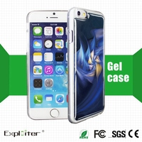 Hottest sales custom 3d mobile case for cell phone cover apple plus