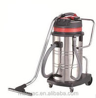 80L 3kw 220V stainless steel industrial car wash vacuum cleaner for Restaurant and hotel