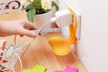 mobile phone wall holder for charging phone