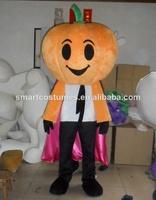 new arrival adult pumpkin mascot costume