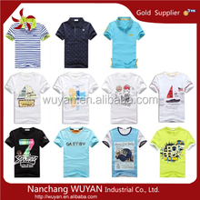 2015 hot sale brand kids t-shirts high quality boys kids t-shirts design