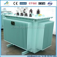 50kva 3 phase oil immersed toroidal 2 winding pole mounted type electrical distribution transformers