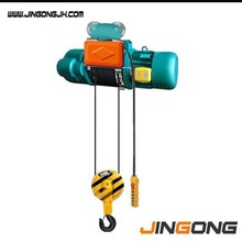 CD1 material handling devices pull rope electric wire rope hoist mini electric wire rope hoist with trolley