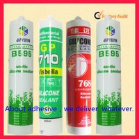 China supplier hangzhou fenglei brand high quality acetoxy fast cure siliicone sealant adhesive glue for windows and glass