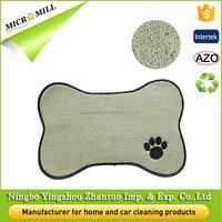 Disposable pet food mat, microfiber pet cool mat, comfortable pet blanket