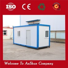 high quality prefabricated light steel foldable panel container house sale