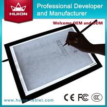 aliexpress China huion tattoo light tracing board/Led tracing board animation art light table A3