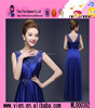 Fashion Bead Embroidered Evening Dress Floor Length Sexy Elegant Ladies Xxl Evening Formal Dress