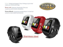 High quanlity waterproof smart phone U8 Plus bluetooth smart watch for Android and iPhone