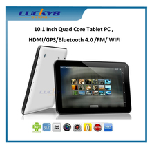 MTK8127 Quad Core Tablet with GPS Bluetooth4.0 HDMI, Android Tablet 10 Inch