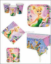 birthday themes supply paper party cup pad
