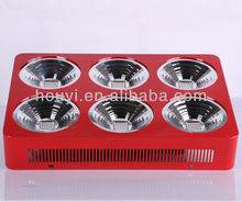 Super high power houyi integrated led grow light 300w for hydroponics led grow light 3w led