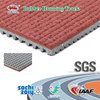 Waterproof Sports Flooring Rubber Synthetic Athletic Track