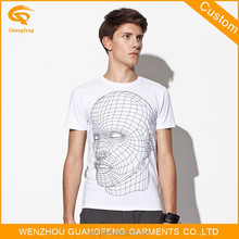 Bulk Custom White Plain O Men t Shirt Made In China