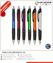 metallic ribby grippy promotional pen; crystal gold ballpoint pen; eva ball pen