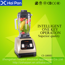 Multi function heavy duty 3 hp kitchen appliance commercial blender food processor