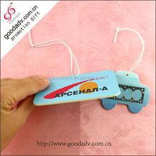 Car air cleaner scented paper cmyk printing air freshener perfume wholesale
