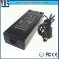 Dubaï marché de gros connecteur dc taille 4 broches, 120w 24v 5a adapter# yo321 ordinateur portable