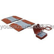 50 ton portable axle weighing scales