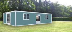 efficient easy installation container prefabricated houses and villas containers