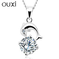 OUXI Factory direct price New Arrival fashion jewel necklace made with swarovski elements Y30138