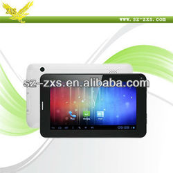 Zhixingsheng 7 inch mid android tablet phone 4000 mah support 2g/3g phone calling A13-747