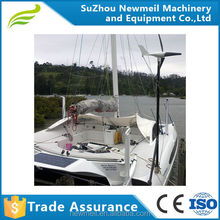 stable strong 2 bearing structure motor 300 400W 12V 24V wind power turbine generator ideal for boat