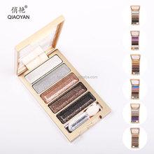 QIAOYAN Silky Eye Shadow 5 colors Shining Pearl Smokey Makeup Kit
