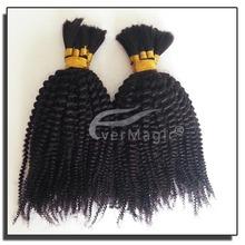 super top grade quality 1b# malaysian virgin human hair afro kinky baby curl hair weave