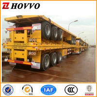CIMC 40 Ton Container Transportation Trailer Chassis ,Flatbed SemiTrailer, 3 Axle 40ft Semi Trailers