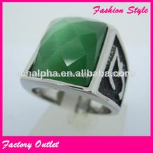 corte de la esmeralda anillo de diamantes