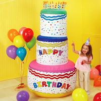 big inflatable birthday cake