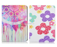 Colorful Florals Stars Durable Folding Flip Stand PU Leather Tablet Cover Case For iPad Mini 4