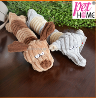 2015 wholesale corduroy dog plush pet toy for dog