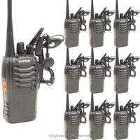 Cheap Walkie Talkie Handy BF 888S 5W 16CH UHF Two Way Radio Baofeng BF888s