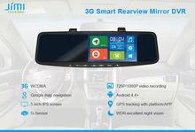 JIMI JC600 3G Android Car Bluetooth Speakerphone Rear View Car Mirrors