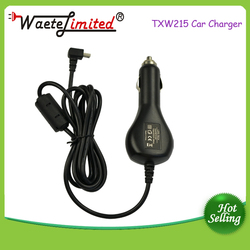 CE ROHS approval direct car charger 9v 2A with angel jack mini usb for Garmin GPS