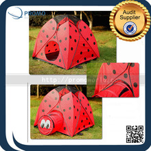 Funny Ladybug Shape Red Outdoor Pop Up Easy Fold Animal Deisgn Kids Play Tent