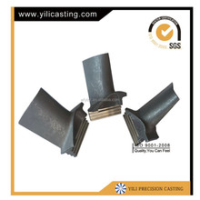high quality nickel base alloy and super alloy turbine blade