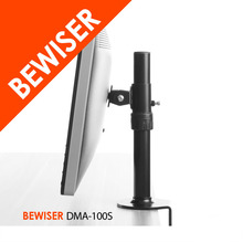 Flexible Swivel Desk Clamp Base Single Display LCD Monitor Arm Stand (BEWISER DMA-100S)